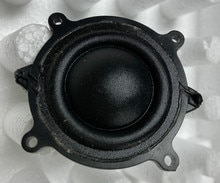 GHXAMP 48mm Treble Speaker 4Ohm 10W Silk Film Rubidium Magnetic Tweeter Gear Radiator Repair Treble Speaker Unit  2pcs