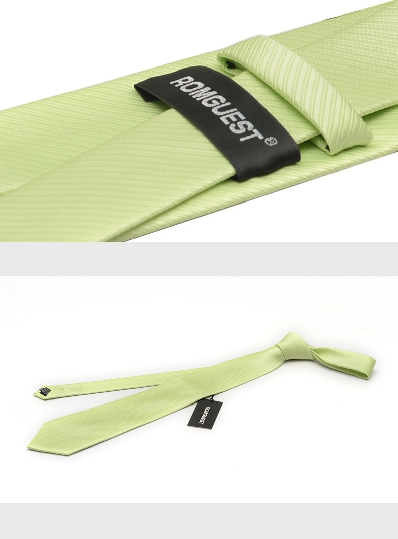 2020 High Quality Brand New Fashion Formal Light Green 8cm Necktie Bridegroom Wedding Tie Anniversary Party Ties with Gift Box