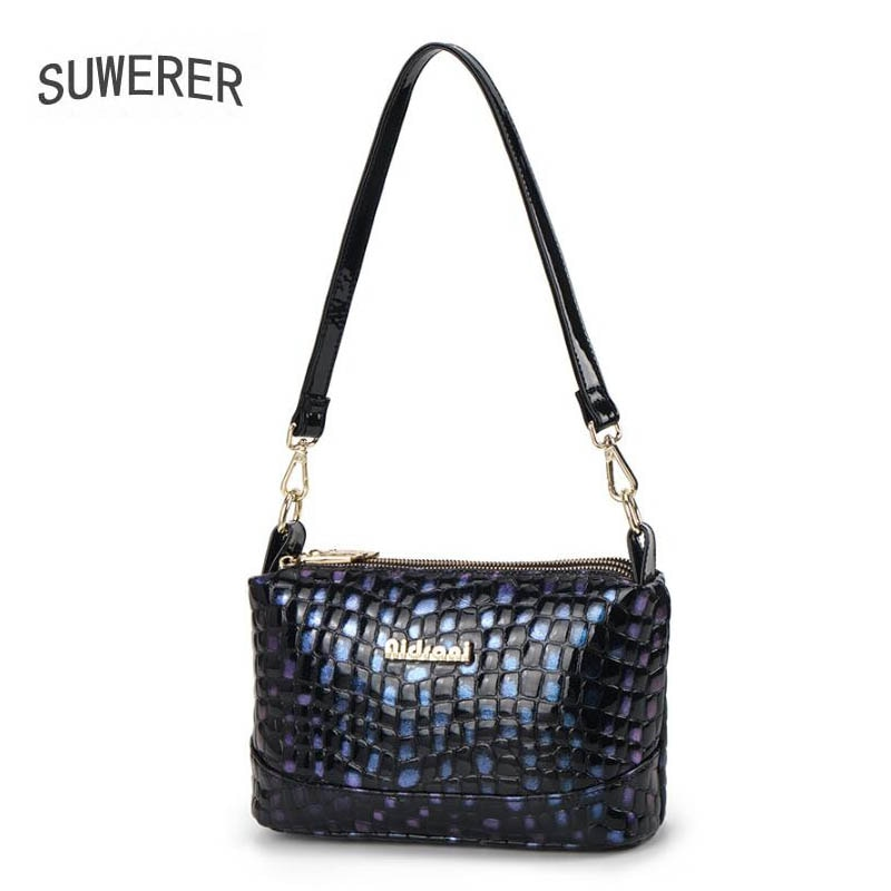 New Cowhide Leather Shoulder Bag Women Handbags High Quality Luxury Handbags Women Bags Designer Famous Brand Women Purse
