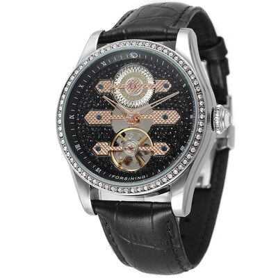 Automatic Mechanical Watch For Men Trendy Watch Fashion Business Temperament Personality European And American Style 2021 New enlarge