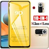 pel%c3%adcula tempered glass for redmi note 10 glass 9h camera film for xiaomi redmi note10 pro screen protector redmi not 10 glass