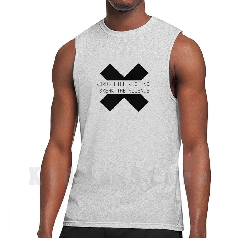 Enjoy The Silence 2-Camiseta sin mangas negra para 100%, chaleco de algodón...