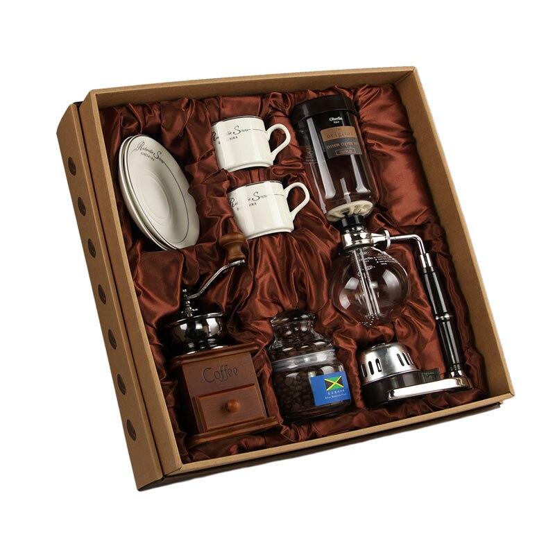 Conjunto de ferramentas de café chaleira de vidro dispensador café espresso dripper coffeeware acessórios cafeteira italiana coffeeware ea6kft