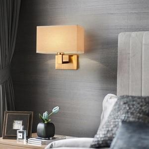 Modern Led Wall Lamp Gold Nordic Sconces Lighting Fixtures Bedroom Living Study Bedside Kitchen Minimalist Indoor Decor Lights
