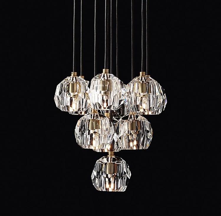 Lámpara colgante G4 Led luz colgante interior lámpara suspendida para sala de estar