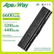 Apexway Batterie Dordinateur Portable pour Toshiba PA3533U-1BAS PA3534U-1BRS pour Satellite A200 A205 L300 A210 A215 L305 L305D L500 L500D L505