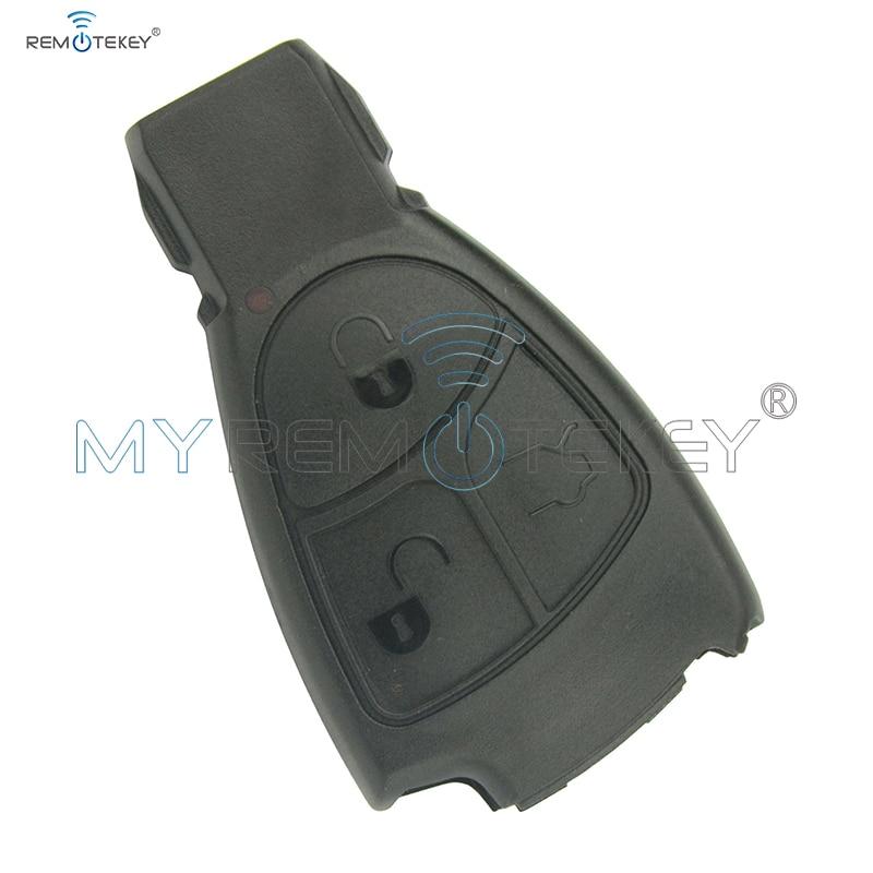Smart key case 3 buttons Europe Model E class C class for Mercedes remtekey