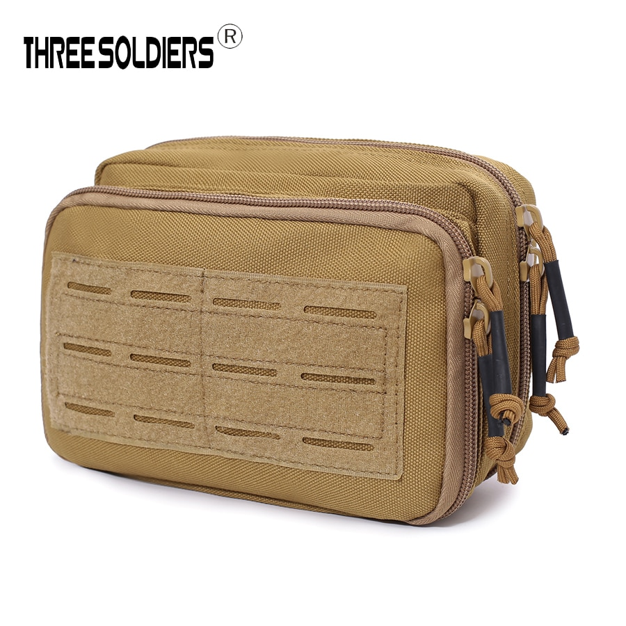 Tactical Laser doulbe EDC tool Bag EDC Military System Tactical Bag MOLLE Backpack Army Bags Pouch Waterproof 1000D Nylon Bag