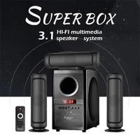 3 1 surround sound home cinema audio system music center smart column theater soundbar bluetooth speaker 60w hifi usb radio fm