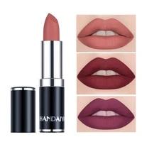 12 colors velvet matte lipstick waterproof moisturizing lipstick persistent coloring lip glaze for women lip cosmetic tslm2 new