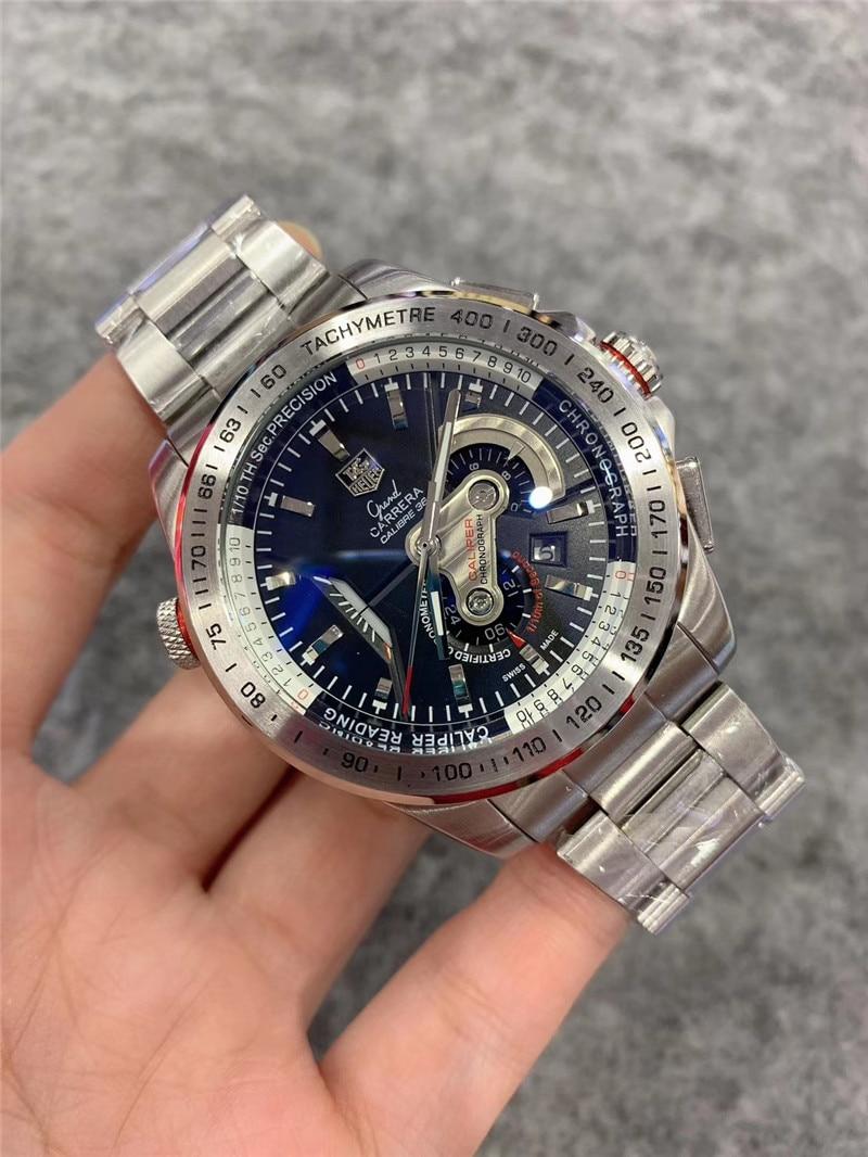 Tag Heuer-2020 tendência da moda aço inoxidável relógio masculino de renome mundial marca de luxo totalmente funcional relógio mecânico aaa