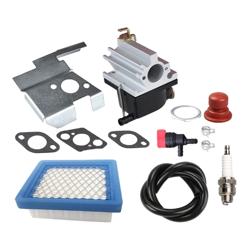 2020 New 640020 Carburetor + Air Filter Tune Up Kit for Tecumseh 640020A 640020B VLV126 VLV60 6.75HP Engine Lawn Mower
