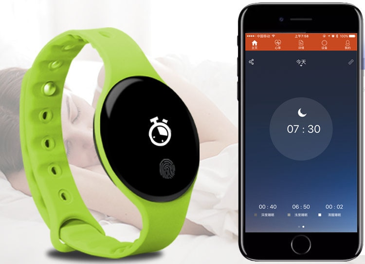 IN STOCK 2020New Original H8 Band 3 Smart Bracelet, 0.66 inch OLED Instant Message Caller ID Forecate