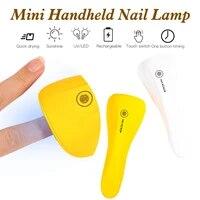handheld nail dryer machine uv led lamp portable 3060s timer usb home use nail gel varnish dryer led nail lamp tool 2 colors