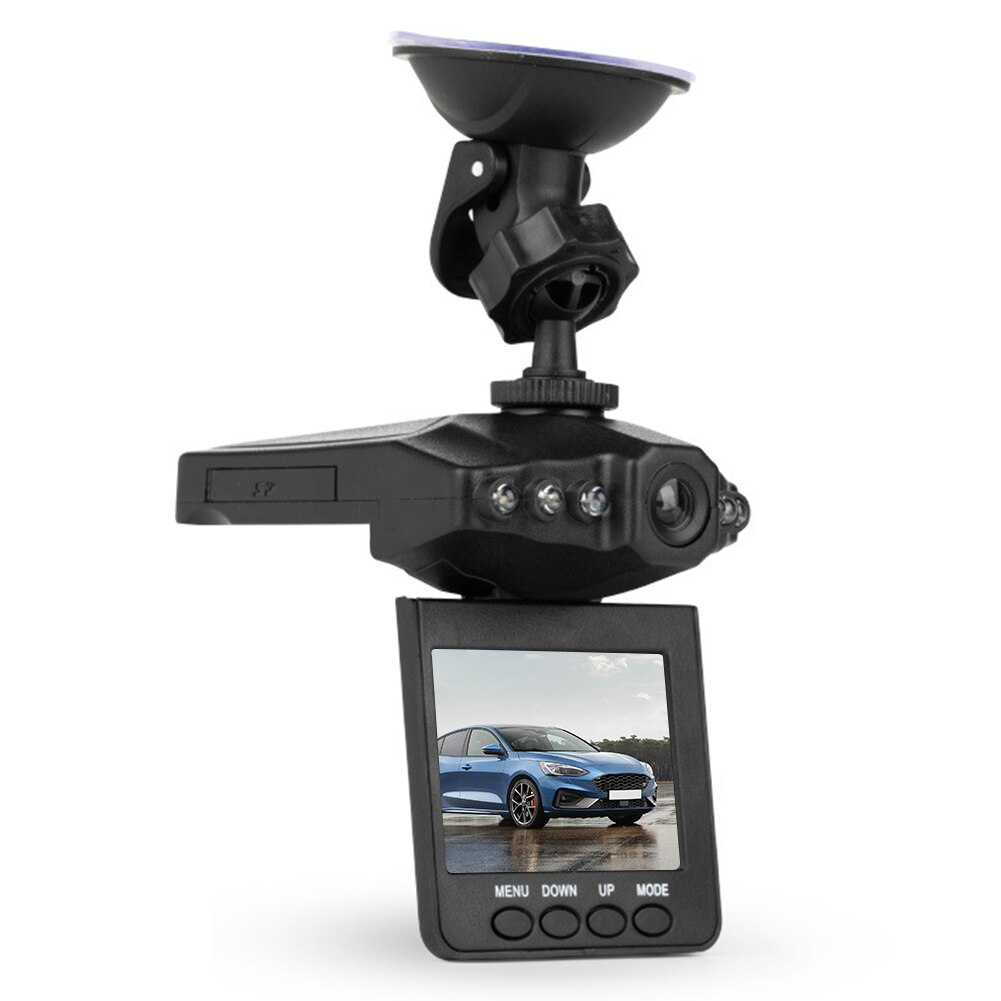2.5 inch Car DVR Camera 1080P LCD Display Car DVR Dashboard Loop Recording Night Vision Dash cam with 6 LED Lights Accessories
