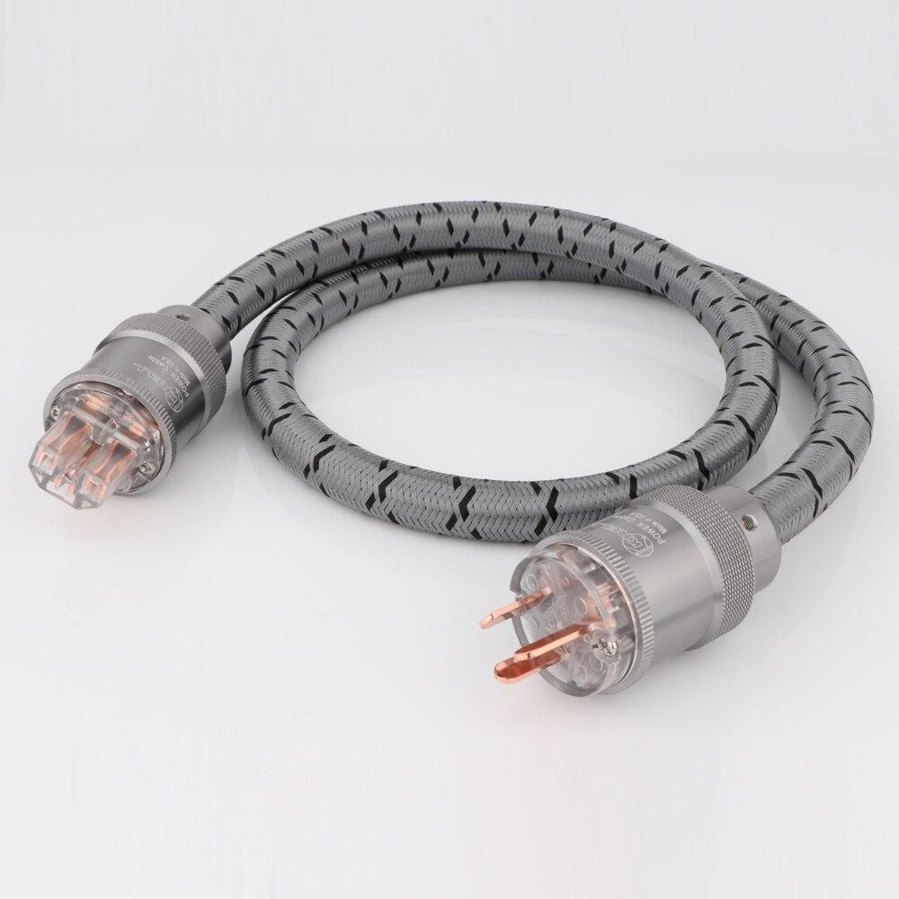 JP KRELL CRYO-156 الاتحاد الافريقي كابل الطاقة سلك الطاقة Hifi CD مكبر للصوت AU سكل طاقة التيار الكهربائي الحبل مع النحاس النقي الألومنيوم قابس طاقة