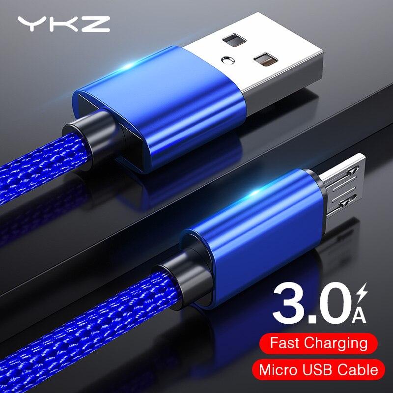 Кабель Micro USB, металлический нейлоновый Кабель Microusb, кабель для передачи данных, кабель для зарядки Micro usb, кабель для samsung, Xiaomi, huawei, htc, sony, Lg