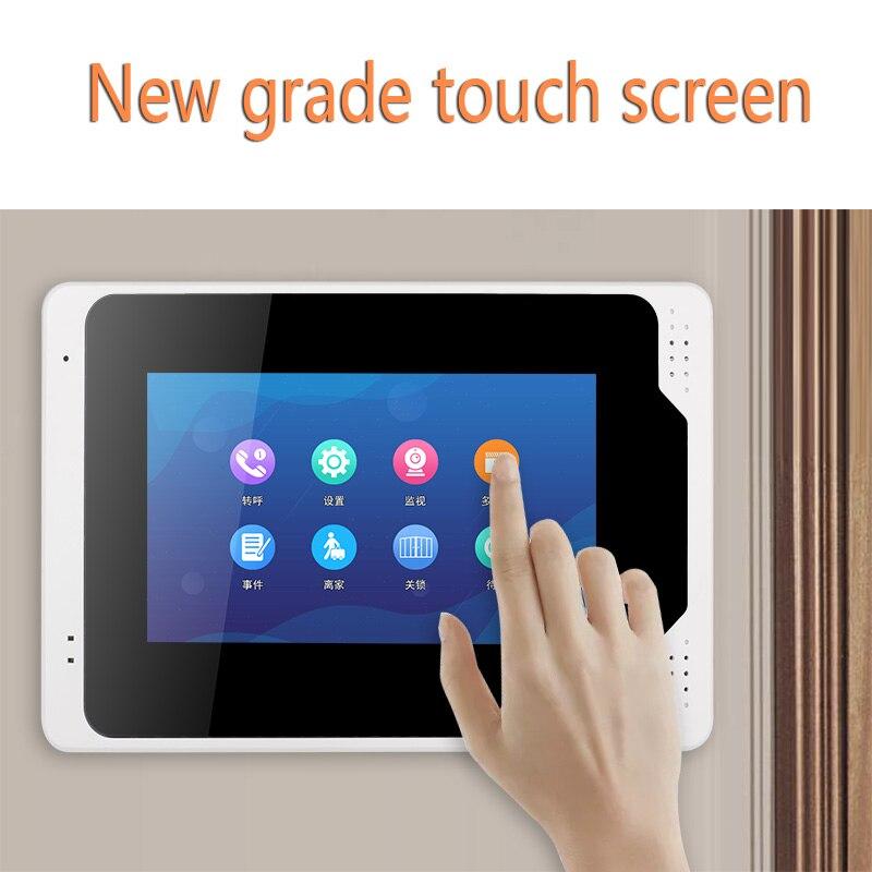 Tuya APP Control 7 Inch Monitor Wifi Wireless Video Door Phone Doorbell Intercom Fingerprint Password IR Camera KIT enlarge
