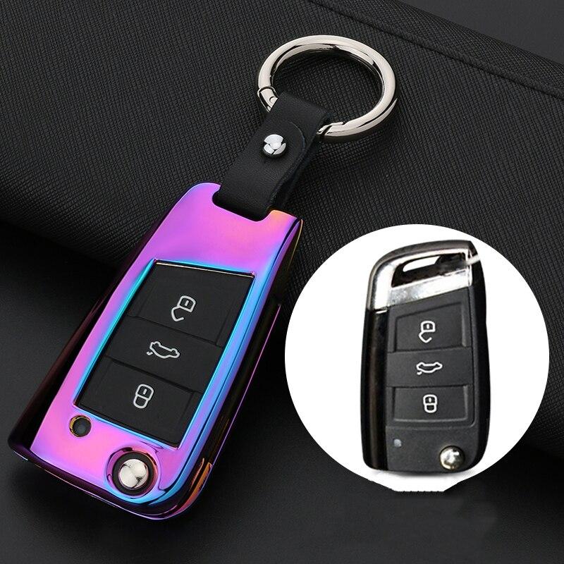 Housse de protection pour Volkswagen LaVida   Nouveau Magotan B8 Tiguan L Lingdu Passat Sagitar Golf 7 ensemble de clés de voiture