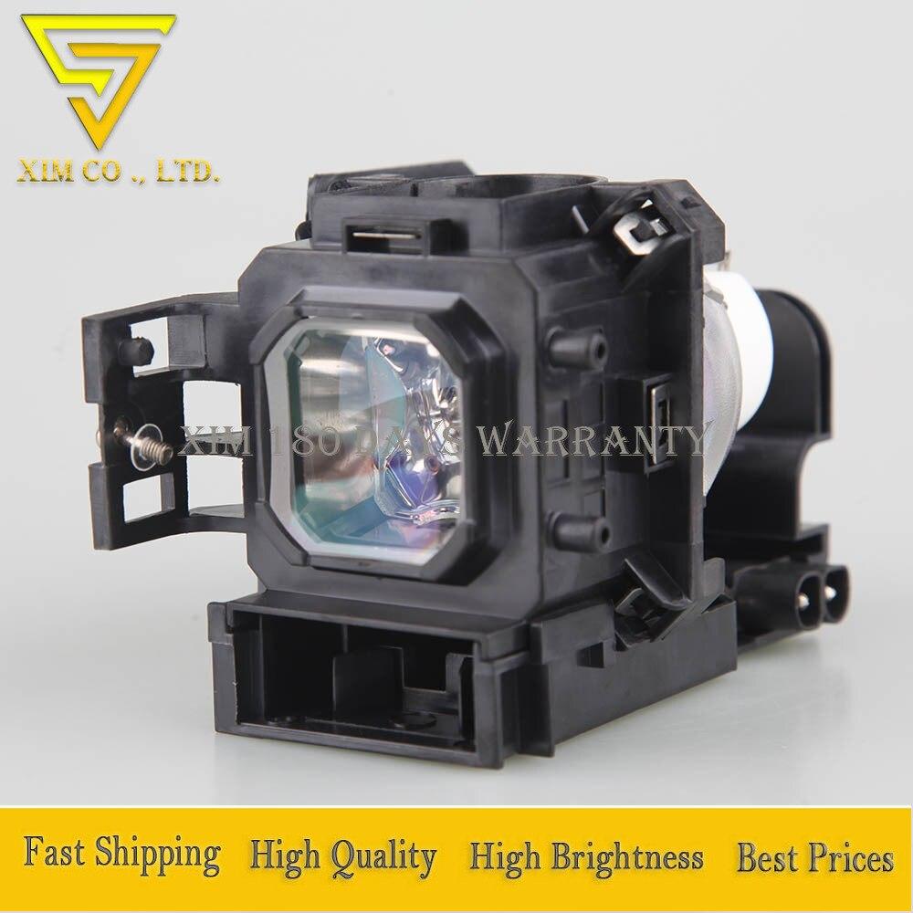 Lámpara de repuesto para proyector NP05LP de alta calidad con carcasa para proyectores NEC NP901WG NP905 NP905G NP905G2 VT700 VT800 VT800G