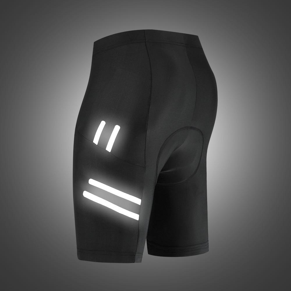 WOSAWE Reflective 5D Padded Cycling motorcycle Shorts Shockproof MTB Bicycle Shorts Road Bike Shorts Tights for Men Women enlarge