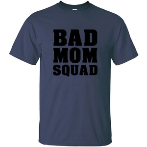 Повседневная мужская футболка с надписью «Bad Mother Squad Team», модель 2020 года, Мужская футболка большого размера, S-5xl, Юмористические футболки