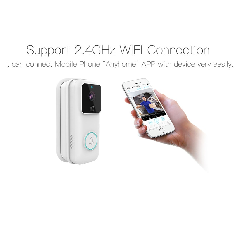 Ymesy WIFI Doorbell Smart Home Wireless Phone Door Bell Camera Security Video Intercom 1808P HD IR Night Vision For Apartments enlarge