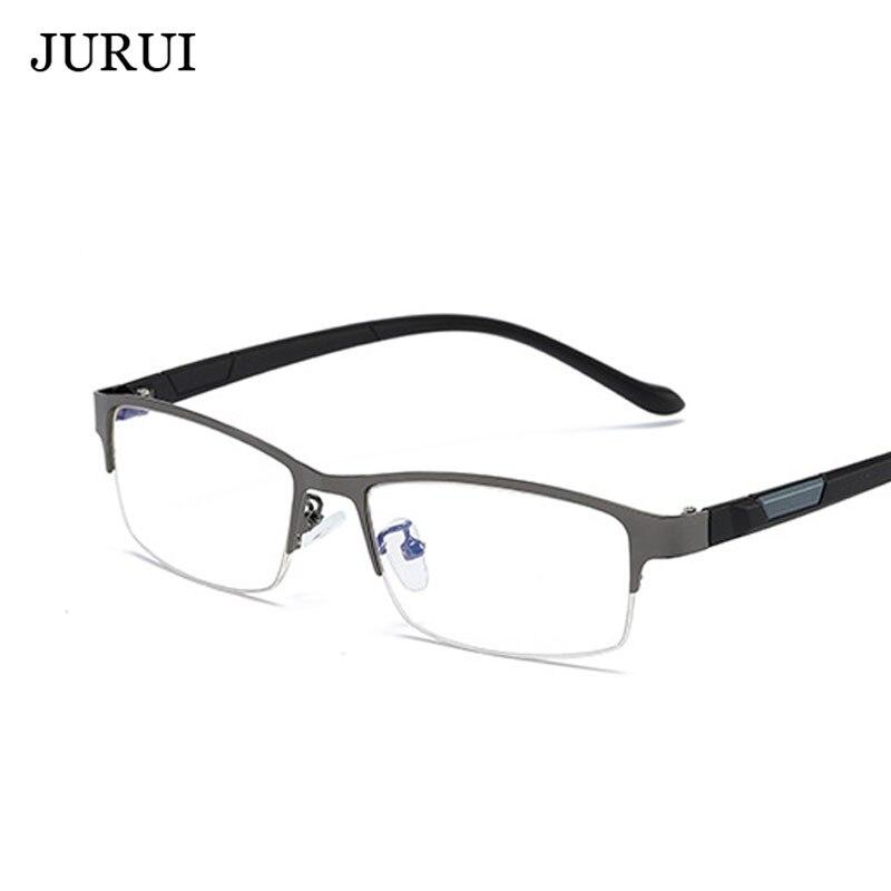 Высококачественная оправа для очков оптическая полуоправа квадратная мужчин и