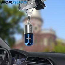 Освежитель воздуха, автомобильный подвесной парфюм, пустая Капсульная бутылка для эфирных масел, диффузор, ароматизатор, украшение для автомобиля, Стайлинг