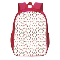 13 inches cocomelon school bags fashion cartoon animation cosplay 3d printing teens backpack students bookbag girls knapsack