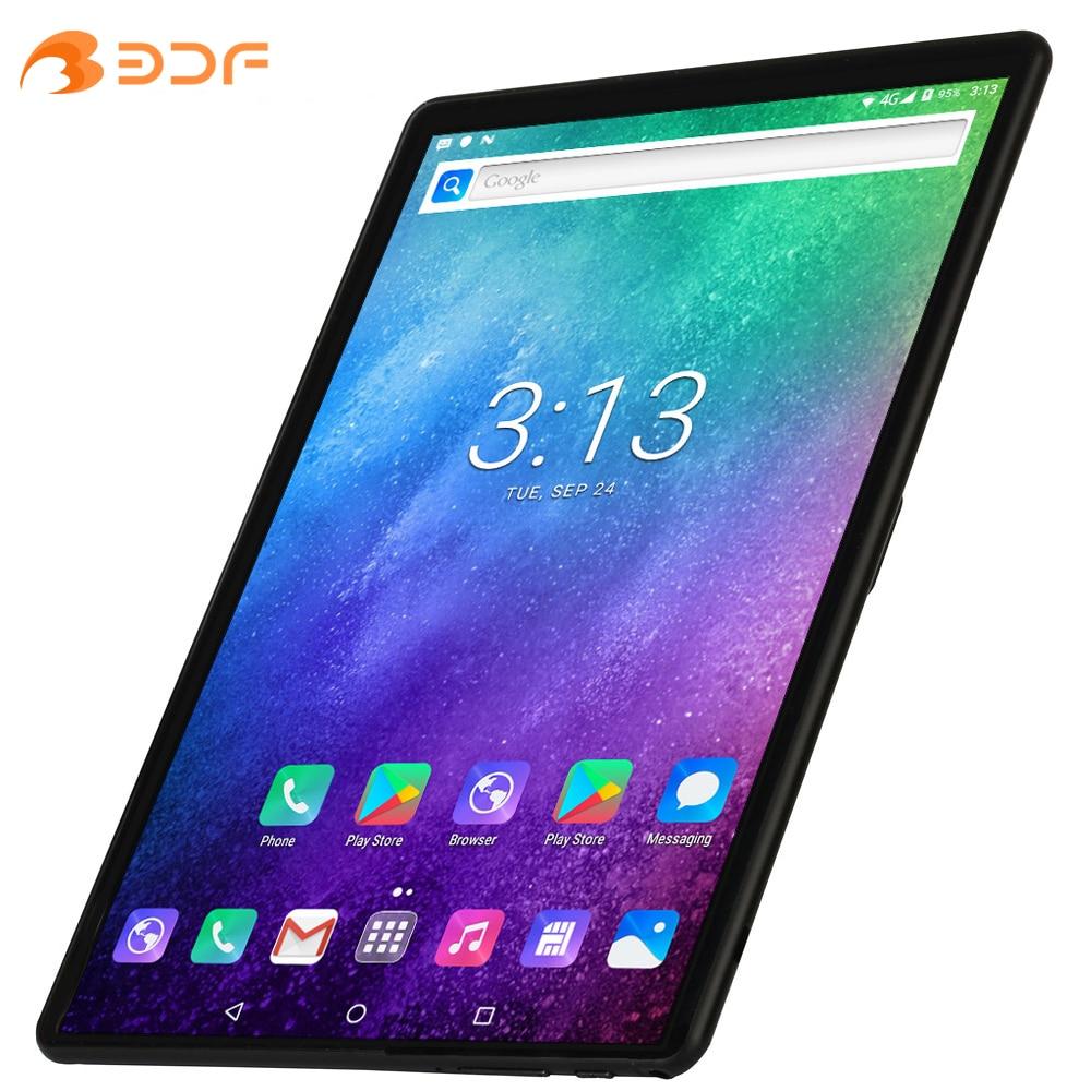 Планшетный ПК, экран 10,1 дюйма, Восьмиядерный, 4G LTE, телефонные звонки, Android 9,0, Google Play, две SIM-карты, Wi-Fi, Bluetooth, GPS