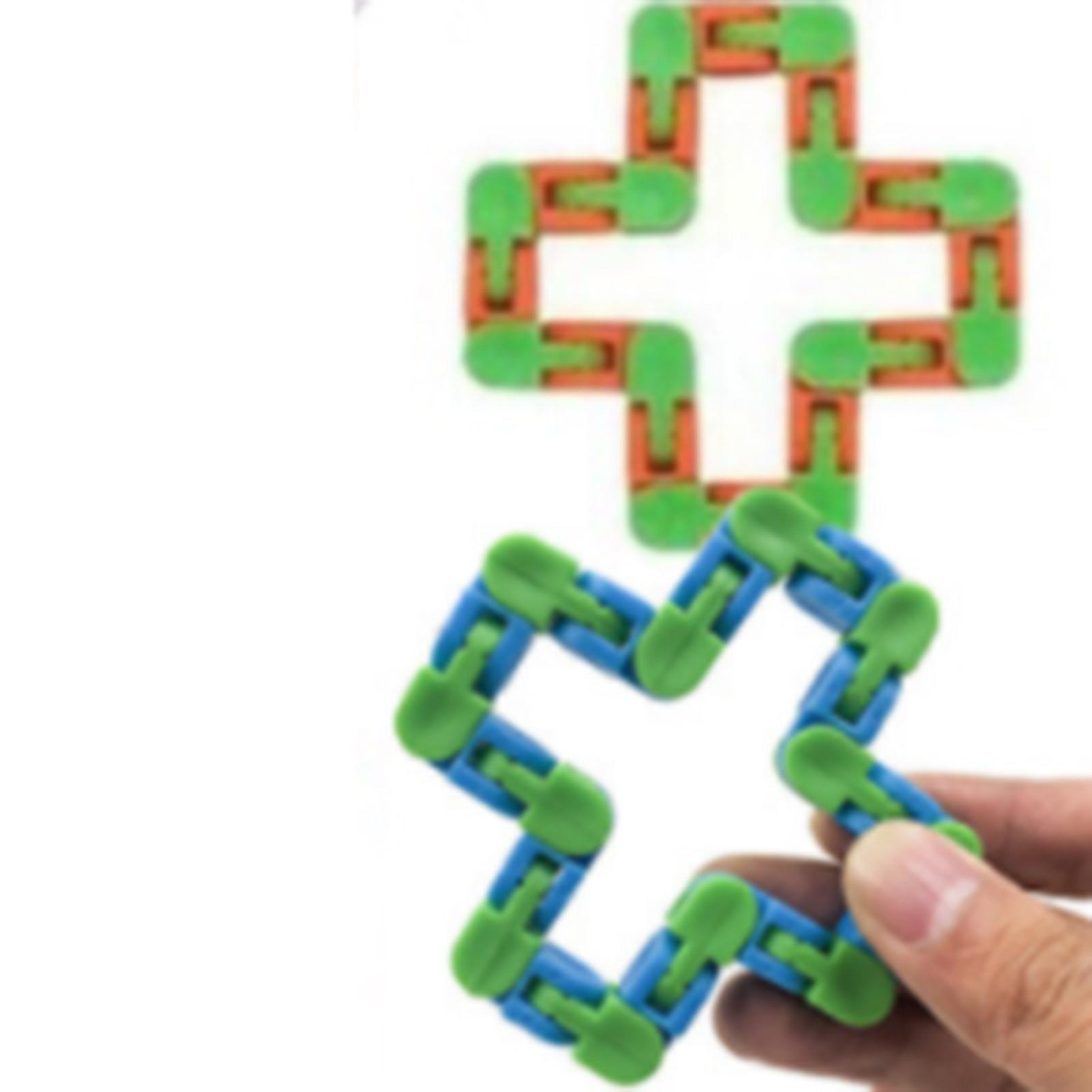 25PCS Fidget Sensory Toy Set Stress-relieving Toys Decompressive Sensory Toy Set With Simple Dimple Fidget Toy enlarge