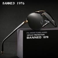 Мужские солнцезащитные очки UV400, поляризованные темные очки HD, для вождения, в коробке, 2020
