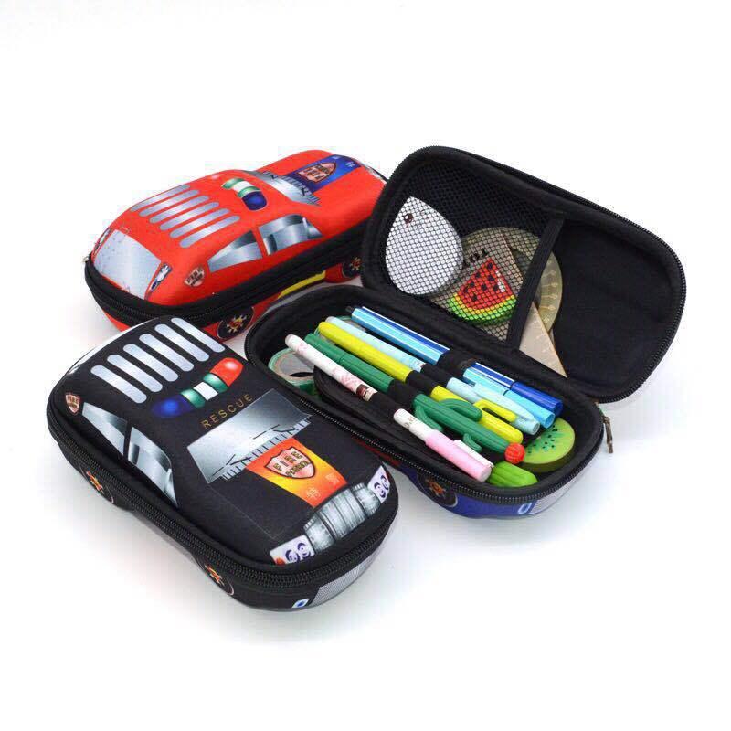 Пенал EVA автомобильный для мальчиков, школьный пенал большой емкости, высококачественный чехол для ручек Сумочка для ручек