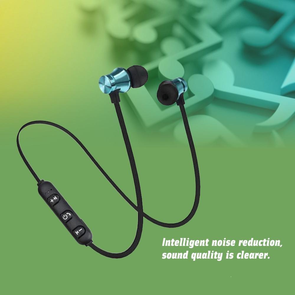 Спортивные Беспроводные наушники XT11, магнитные умные стереонаушники, водонепроницаемые н