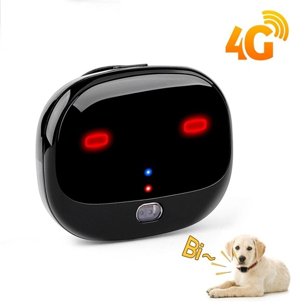 Rastreador de mascotas gps 4G, localizador de seguimiento WIFI, rastreador de perros para mascotas, rastreador de pasos de ejercicio en tiempo real a prueba de agua, GPS para gatos