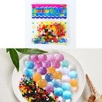 Hydrogel de sol en cristal pour enfants  5 pieces  jouet pour enfants  perles deau en croissance  boules deau  decoration en pot de mariage et de maison