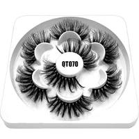 reusable soft band thick long cruelty free wispy fluffy eye lashes 6d faux mink eyelashes false eyelashes extension