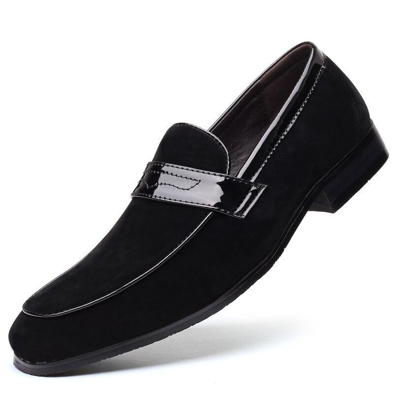 Мужские повседневные туфли больших размеров, лидер продаж, модная деловая повседневная мужская обувь, дышащие повседневные туфли, мужские ...