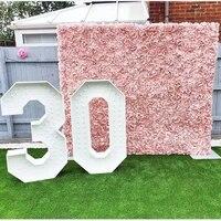 Mur de fleurs colorees decoratives de haute qualite  pour mariage  fleurs en soie  arriere-plan de la maison  accessoires de photographie