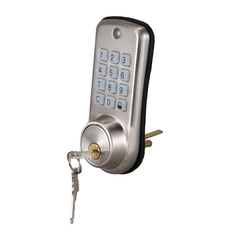 رخيصة المنزل الذكي قفل باب رقمي ، مقاوم للماء ذكي بدون مفتاح كلمة السر دبوس قفل باب بكود قفل ديدبولت الإلكترونية