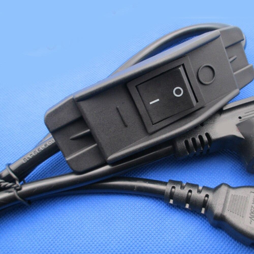 Interruptores eléctricos de alta potencia para equipos médicos, interruptor de manta de goma y interruptor en línea de alta corriente