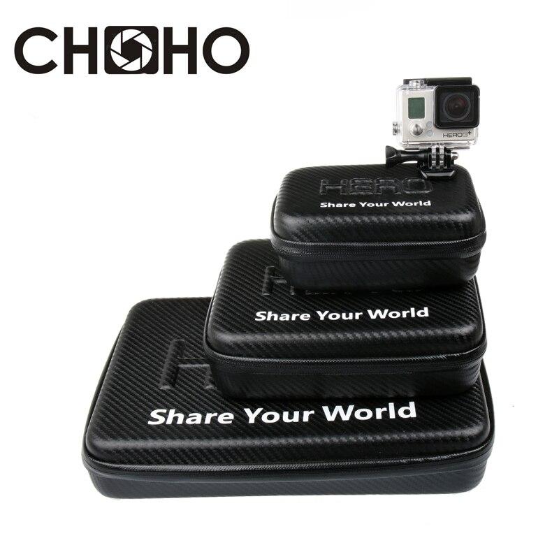 For Gopro EVA Camera Case Portable Waterproof Travel Storage collection Bag For Go pro Hero 7 6 8 Xiaomi Yi 4K SJCAM Accessorie