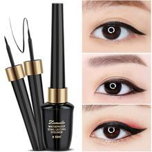 3/2/1 szt. 10ml moda czarny Eyeliner w płynie wodoodporny szybkoschnący nie kwitną Eyeliner ołówek TSLM1