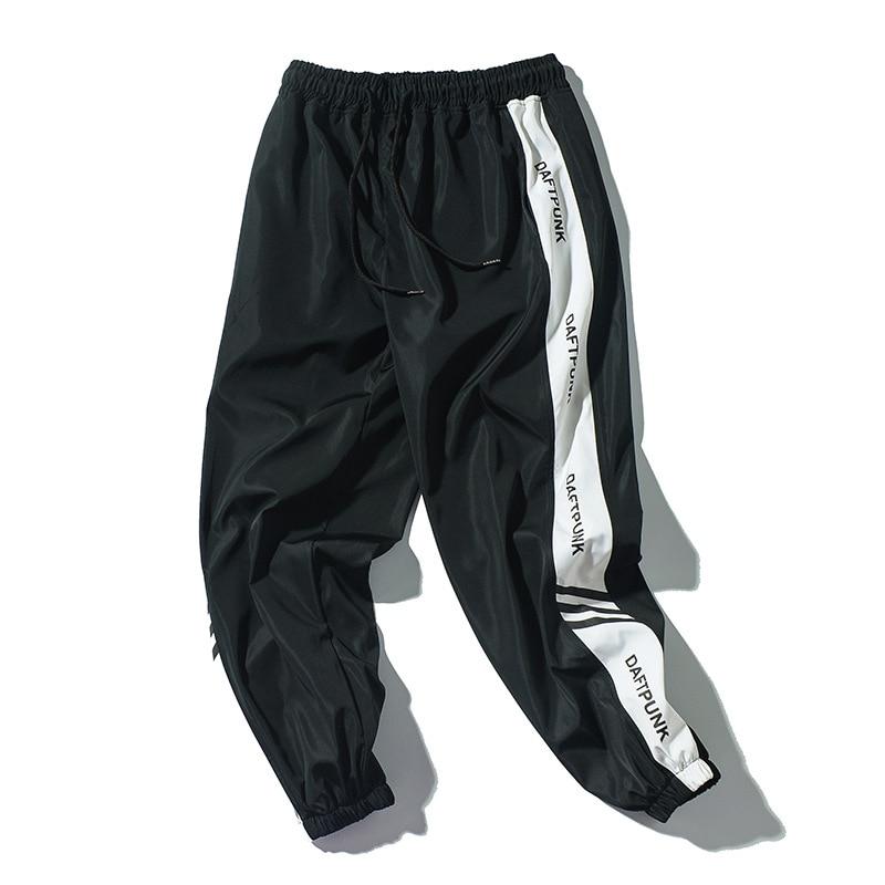 Fashion Brand Men Casual Sweatpants New Street Trend Male Printing Drawstring Pants Men's Hip Hop Ankle-Length Pants
