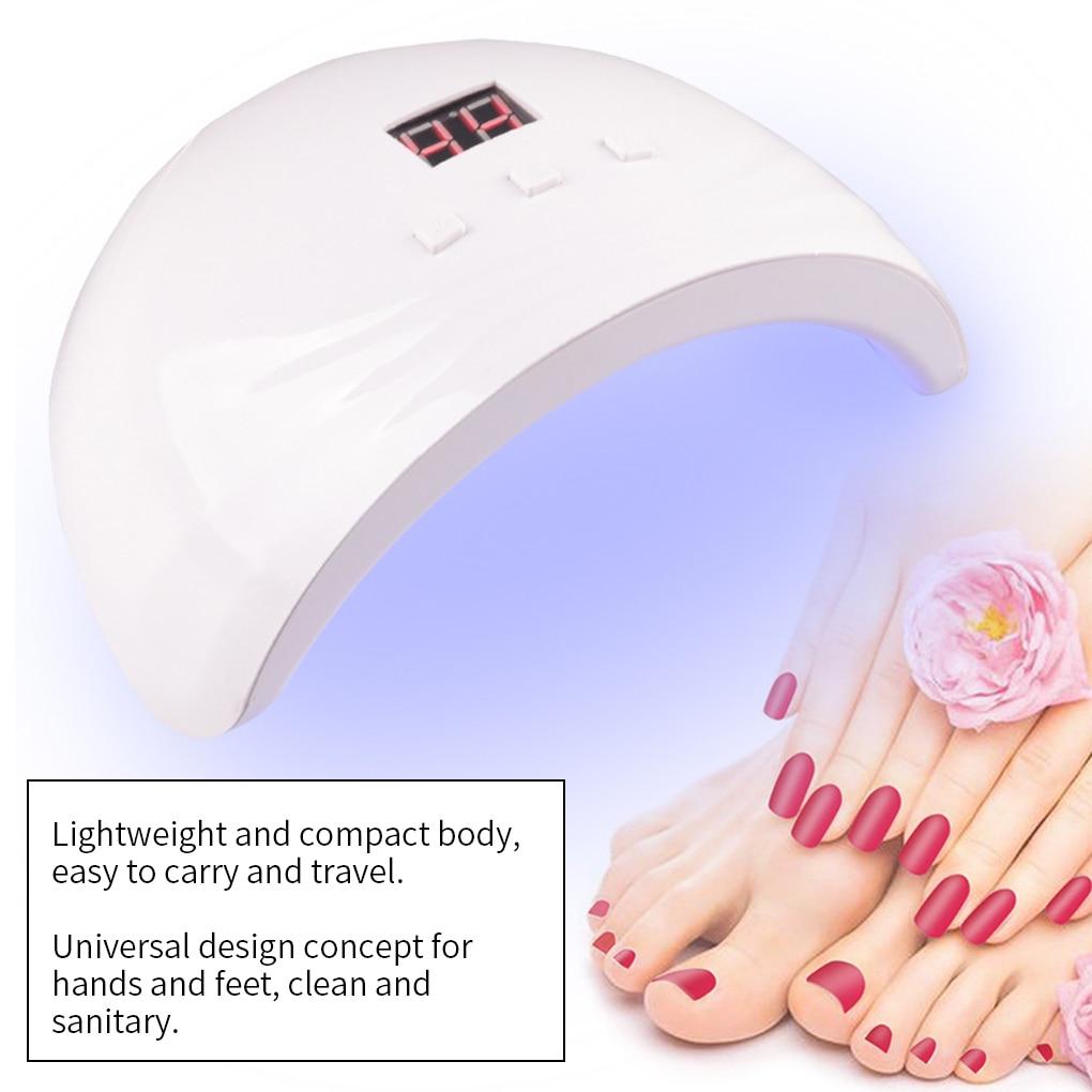 USB Nail Dryer LED Gel Polish Drying Light Portable Manicure Drying Lamp Nail Art Salon Supplies for Drying Nails