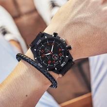 2020 Luxury Brand Silicone Male Quartz Watch Men Military Sports Watches Fashion Wrist Watch Wristwa