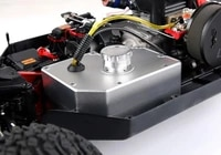 lt v5 losi cnc metal leakproof tank assembly for rovan rofun