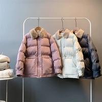 winter thicken parkas coat y8910 woman warm jacket cotton padded jacket slim women coat thicken casual womens puffer jacket