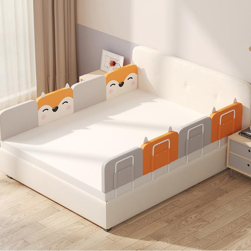 Бампер для детской кровати, забор для детской кровати, регулируемый барьер для кровати, забор, мягкая прикроватная перегородка, защитное ог...